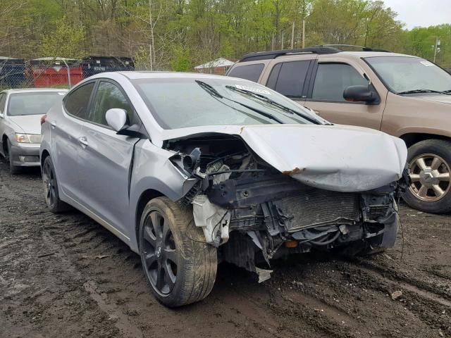 2012 HYUNDAI ELANTRA GLS Photos | MD - BALTIMORE - Salvage Car