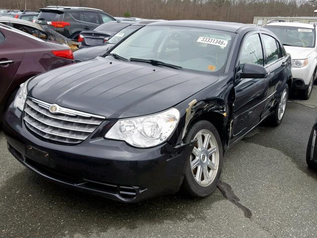 Vin 1c3lc56r17n527084 2007 Chrysler Sebring To Right Front View Lot 33331349