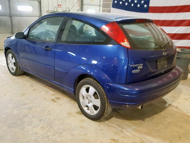 Vin 3fafp31n15r151251 2005 Ford Focus Zx3 Right Rear View Lot 31719099