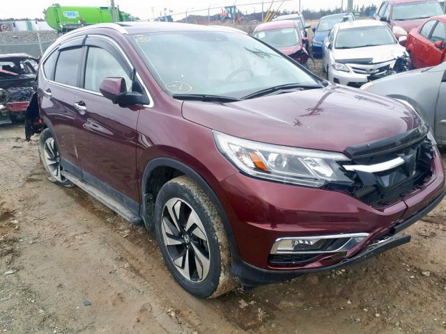 2016 Honda CR-V Touring en venta en Cow Bay, NS