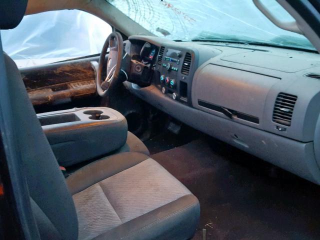 Salvage Title 2008 Chevrolet Silverado 4dr Ext 4 8l 8 For Sale In