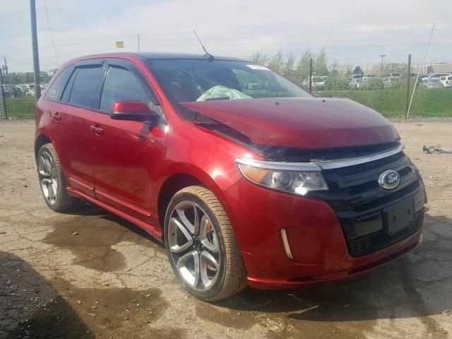 Salvage 2013 Ford EDGE SPORT for sale