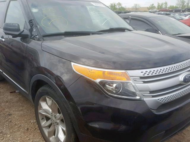 2013 FORD EXPLORER X - Odometer View