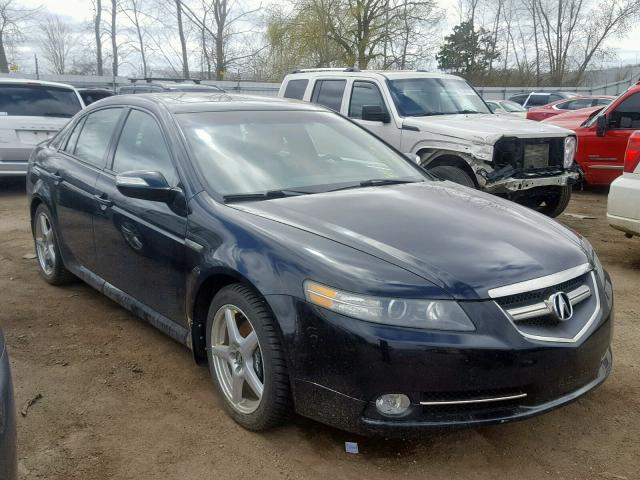 Auto Auction Ended On Vin 19uua75597a041812 2007 Acura Tl Type S In Mi Ionia