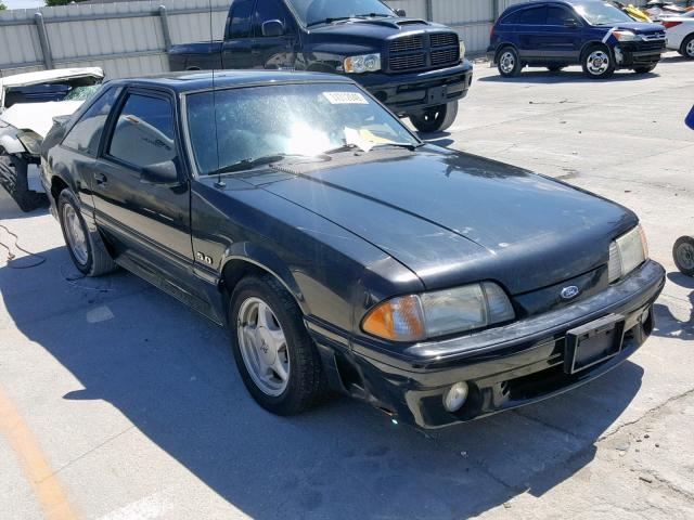 1facp42e8nf122608 1992 Ford Mustang Gt 5 0l Left View