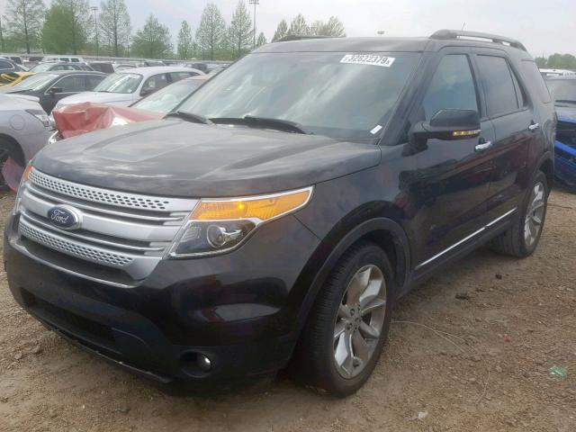 2013 FORD EXPLORER X - Left Front View