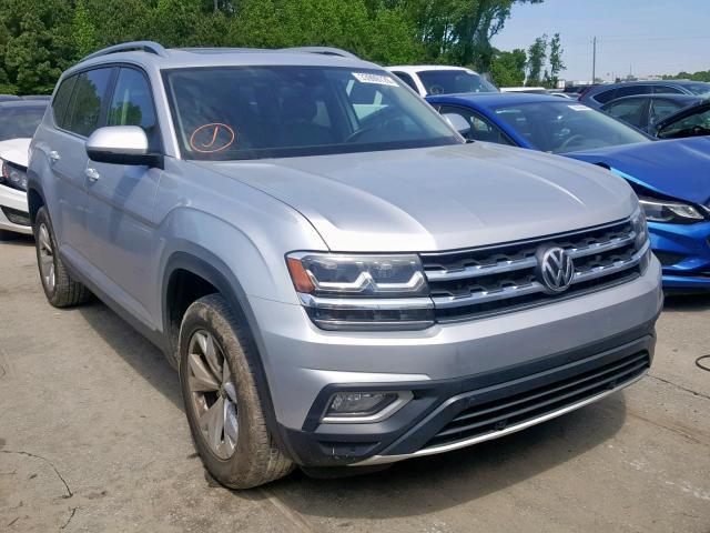 2018 Volkswagen Atlas Sel 3.6L