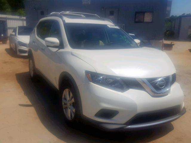 Salvage cars for sale from Copart Gaston, SC: 2016 Nissan Rogue S