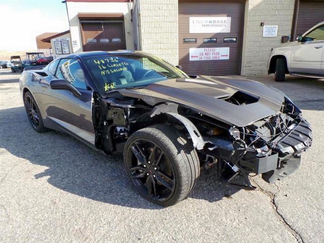 Salvage 2016 Chevrolet CORVETTE S for sale