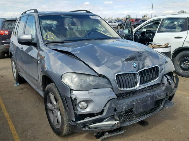 Salvage 2007 BMW X5 3.0I for sale