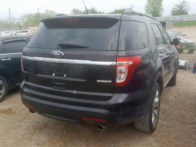 2013 FORD EXPLORER X - Right Rear View