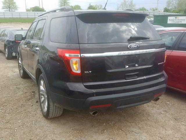 2013 FORD EXPLORER X - Right Front View