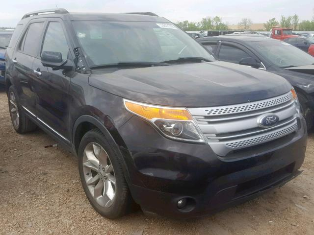 Salvage cars for sale at Bridgeton, MO auction: 2013 Ford Explorer X