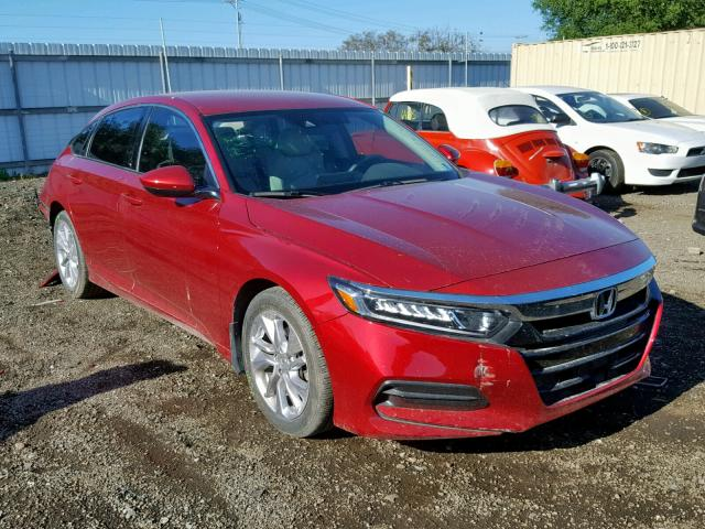 Honda Accord LX salvage cars for sale: 2018 Honda Accord LX