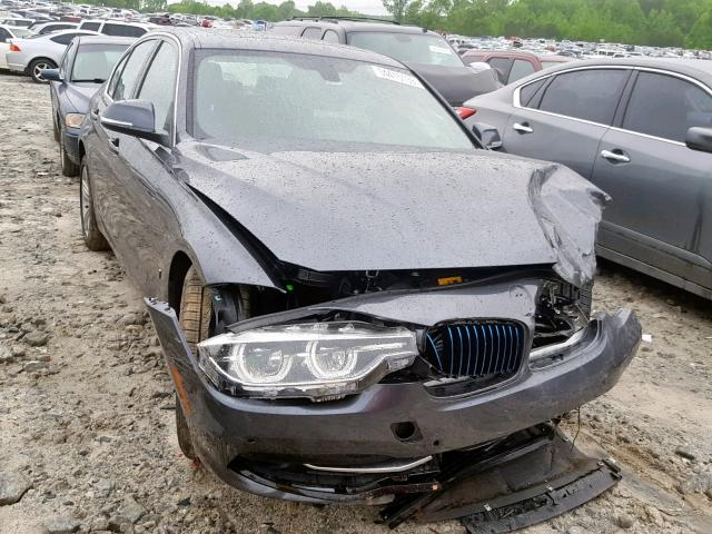 Salvage 2018 BMW 330E for sale