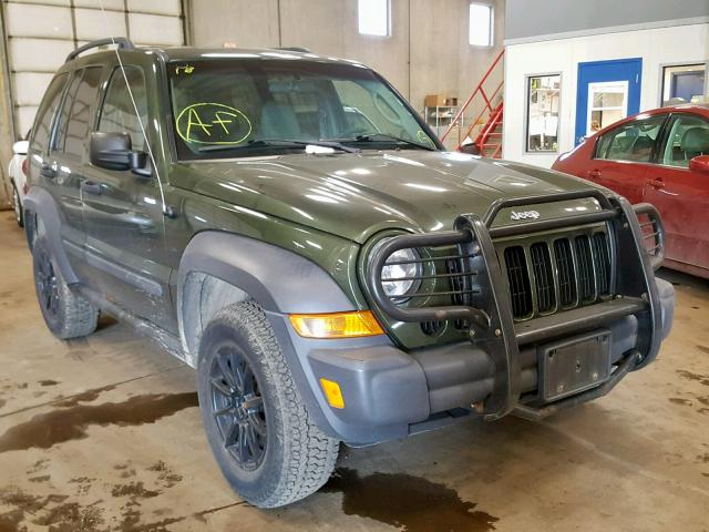 click here to view 2007 JEEP LIBERTY SP at IBIDSAFELY
