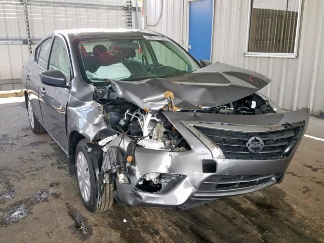 2019 NISSAN VERSA S Photos | FL - ORLANDO SOUTH - Salvage Car