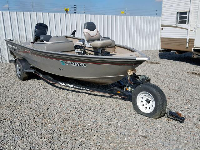 Salvage 2006 Tracker BOAT for sale
