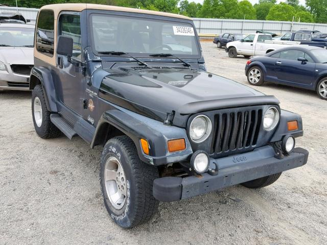 Jeep Wrangler salvage cars for sale: 1997 Jeep Wrangler