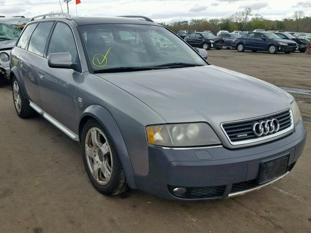 Audi Allroad salvage cars for sale: 2001 Audi Allroad