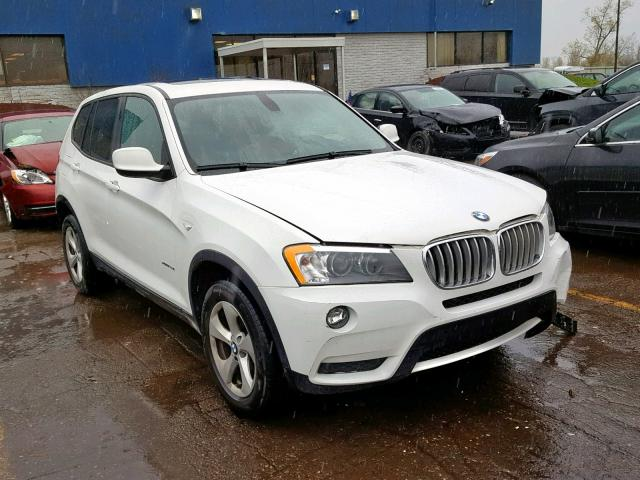 Salvage 2012 BMW X3 XDRIVE2 for sale
