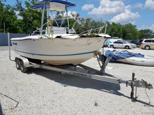 Salvage 2000 Sea Pro BOAT for sale