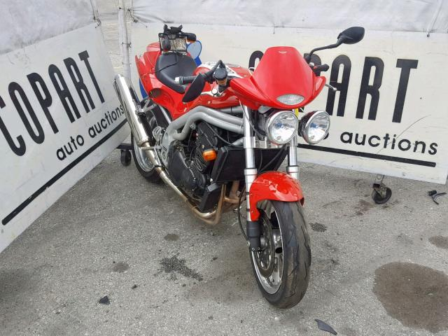 click here to view 1999 TRIUMPH MOTORCYCLE SPEED TRIP at IBIDSAFELY