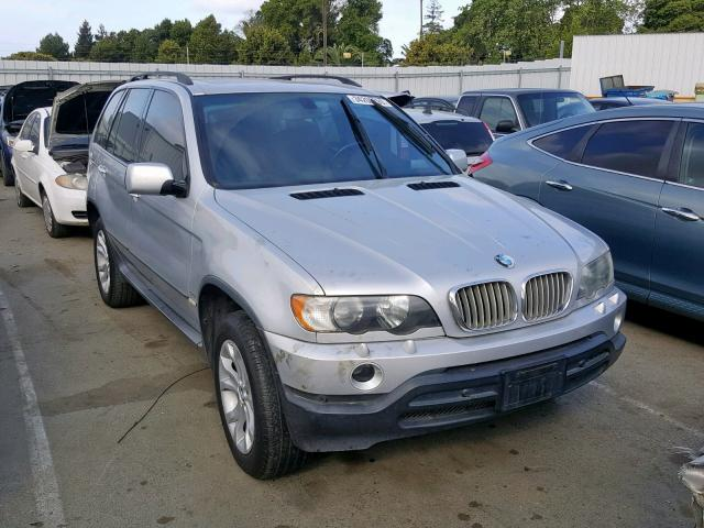 2002 Bmw X5 44i 44l 8 In Ca Vallejo 5uxfb335x2lh34712 For