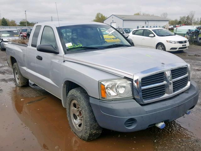 Salvage cars for sale from Copart Columbia Station, OH: 2007 Dodge Dakota ST