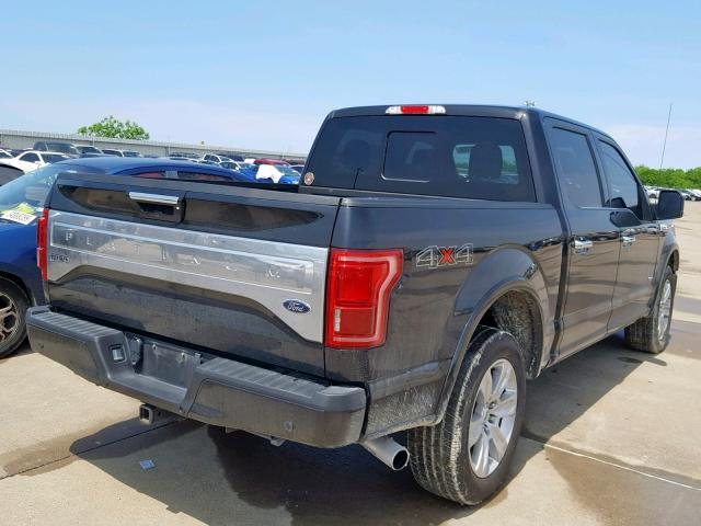 2015 FORD F150 SUPERCREW - 4