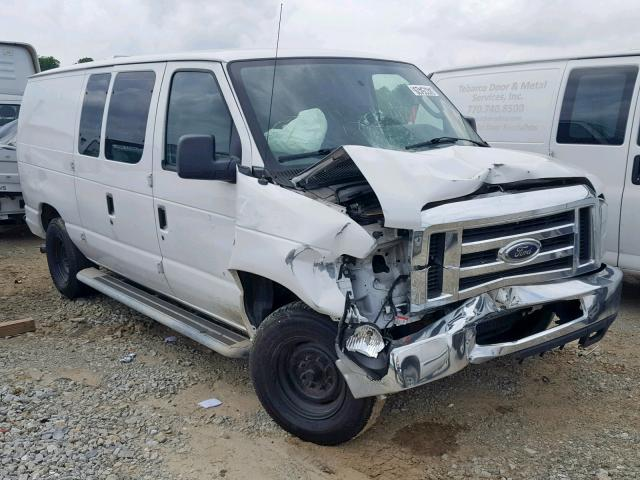 Salvage cars for sale from Copart Gainesville, GA: 2012 Ford Econoline