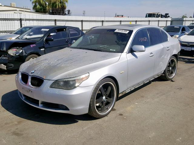 Auto Auction Ended on VIN: WBANA53555B858600 2005 Bmw 525 I in CA