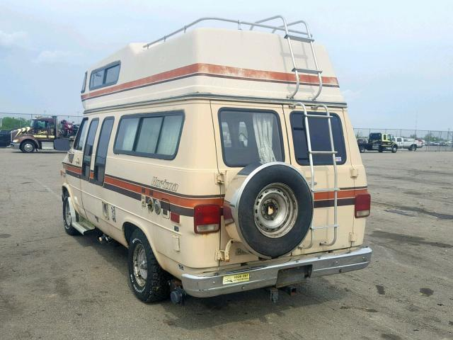 1985 CHEVROLET G20 Photos | OH - DAYTON - Salvage Car Auction on Wed