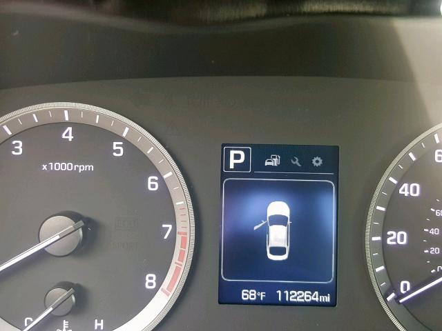 5NPE24AF8FH006960 - 2015 Hyundai Sonata Se 2.4L front view