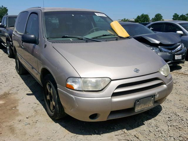 Salvage 2001 Nissan QUEST GXE for sale