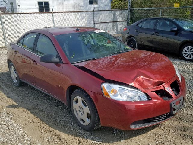 2008 Pontiac G6 Value Leader For Oh Cleveland East Wed Jun 05 2019 Salvage Cars Copart Usa