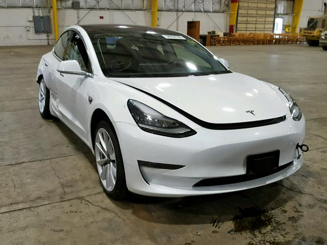 2018 TESLA MODEL 3 Photos | OR - PORTLAND SOUTH - Salvage Car