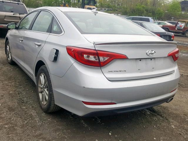 5NPE24AF8FH006960 - 2015 Hyundai Sonata Se 2.4L [Angle] View