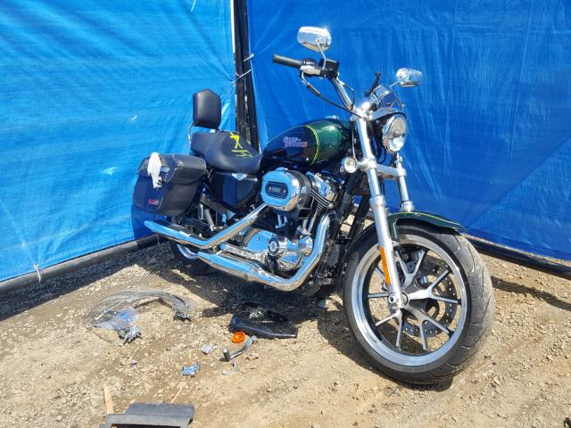 Salvage 2015 Harley-Davidson XL1200 T for sale