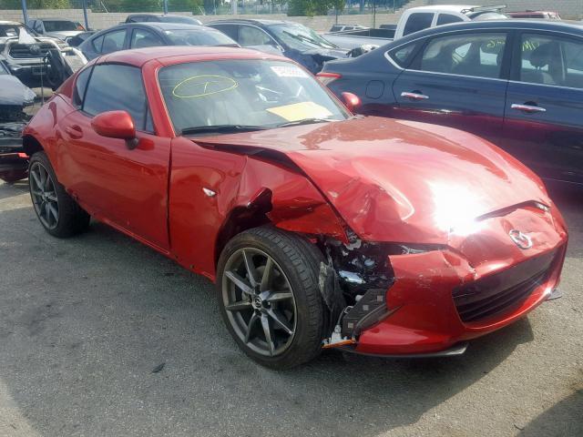 Mazda Mx5 For Sale >> Salvage Certificate 2017 Mazda Mx5 2 0l 4 For Sale In Colton Ca