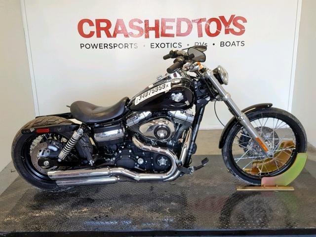 Salvage 2011 Harley-Davidson FXDWG for sale