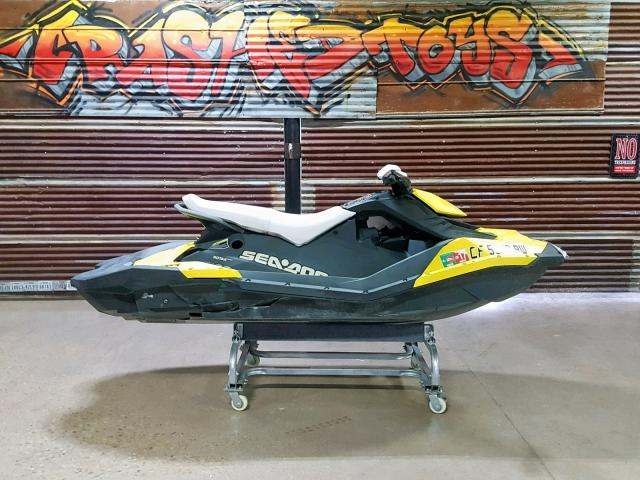 Bombardier salvage cars for sale: 2015 Bombardier Boat