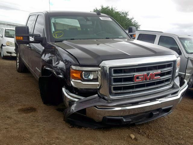 Gmc San Diego >> Salvage Certificate 2015 Gmc Sierra C15 Crew Pic 5 3l 8 For
