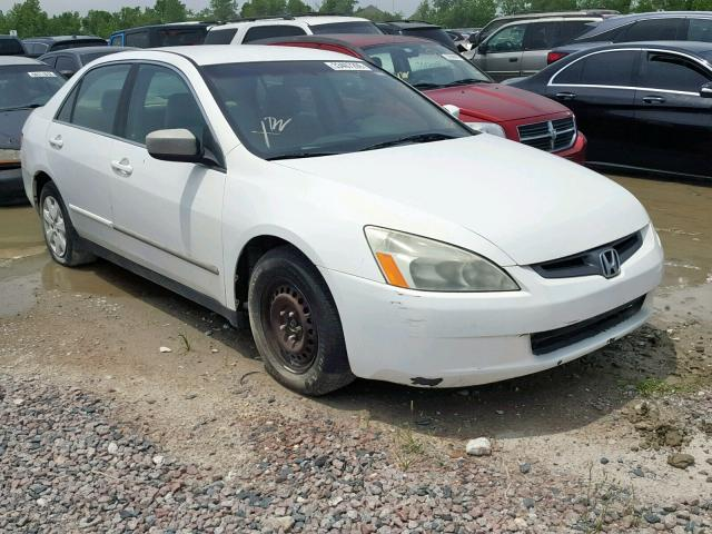 Salvage 2003 Honda ACCORD LX for sale