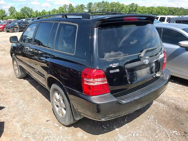 2003 TOYOTA HIGHLANDER - Right Front View