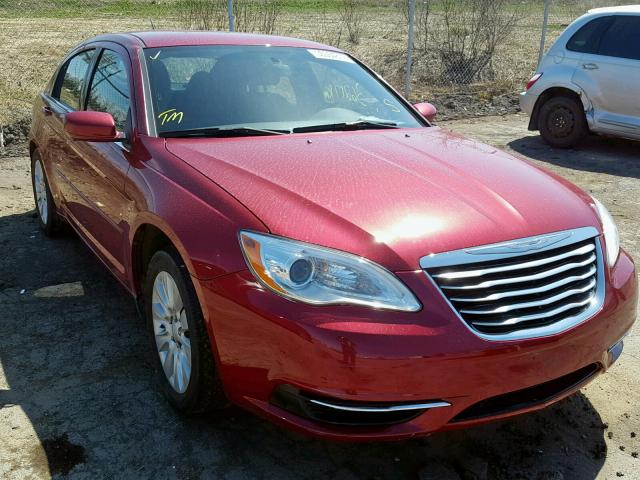 Salvage 2011 Chrysler 200 LX for sale