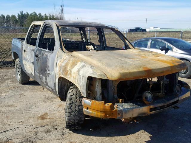 Salvage 2012 Chevrolet SILVERADO for sale