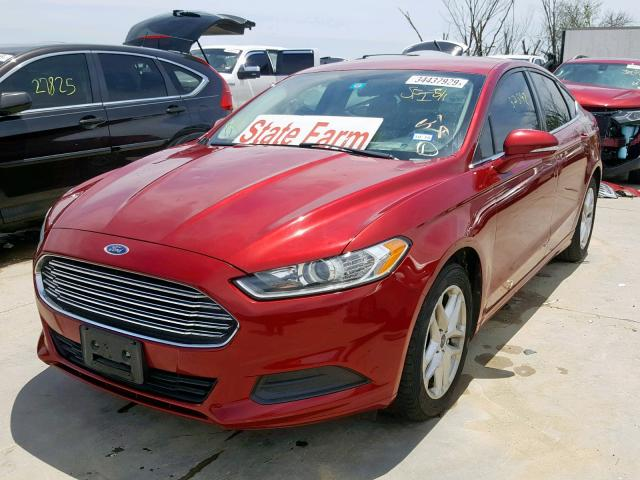 2014 FORD FUSION SE - Left Front View