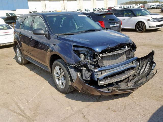 Salvage 2017 Chevrolet EQUINOX LS for sale