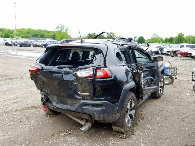 цена в сша 2016 JEEP CHEROKEE TRAILHAWK 1C4PJMBS0GW359955